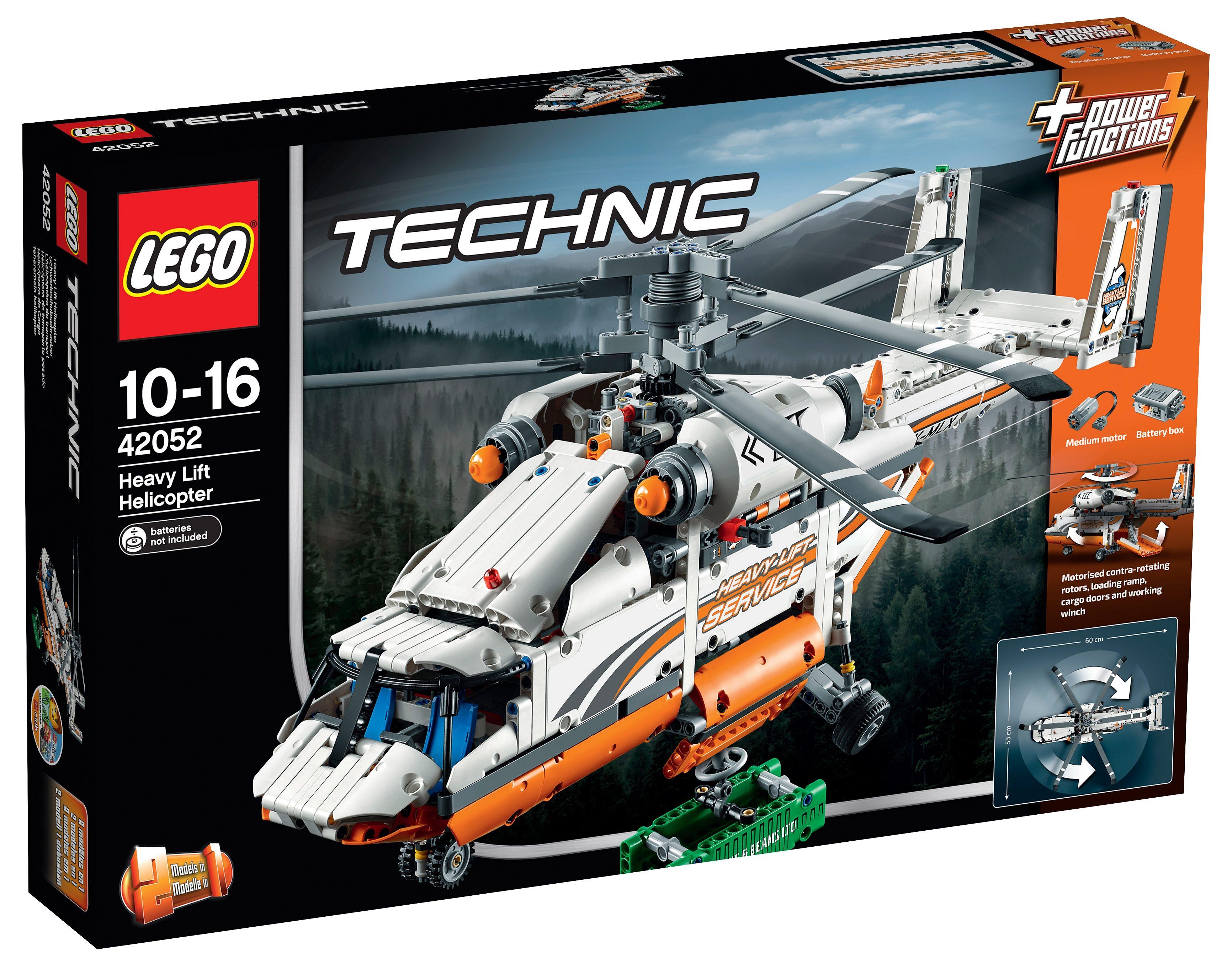 LEGO®, 2 in 1 Modell Schwerlasthubschrauber (42052), »LEGO® Technic«