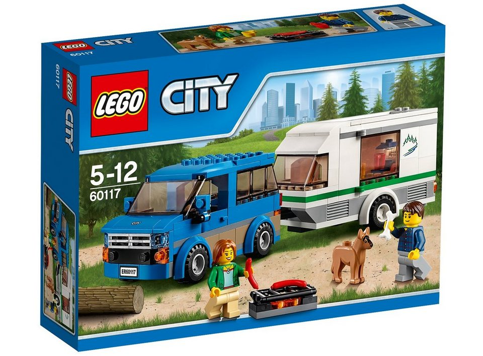 LEGO® Van und Wohnwagen (60117), »LEGO® City«