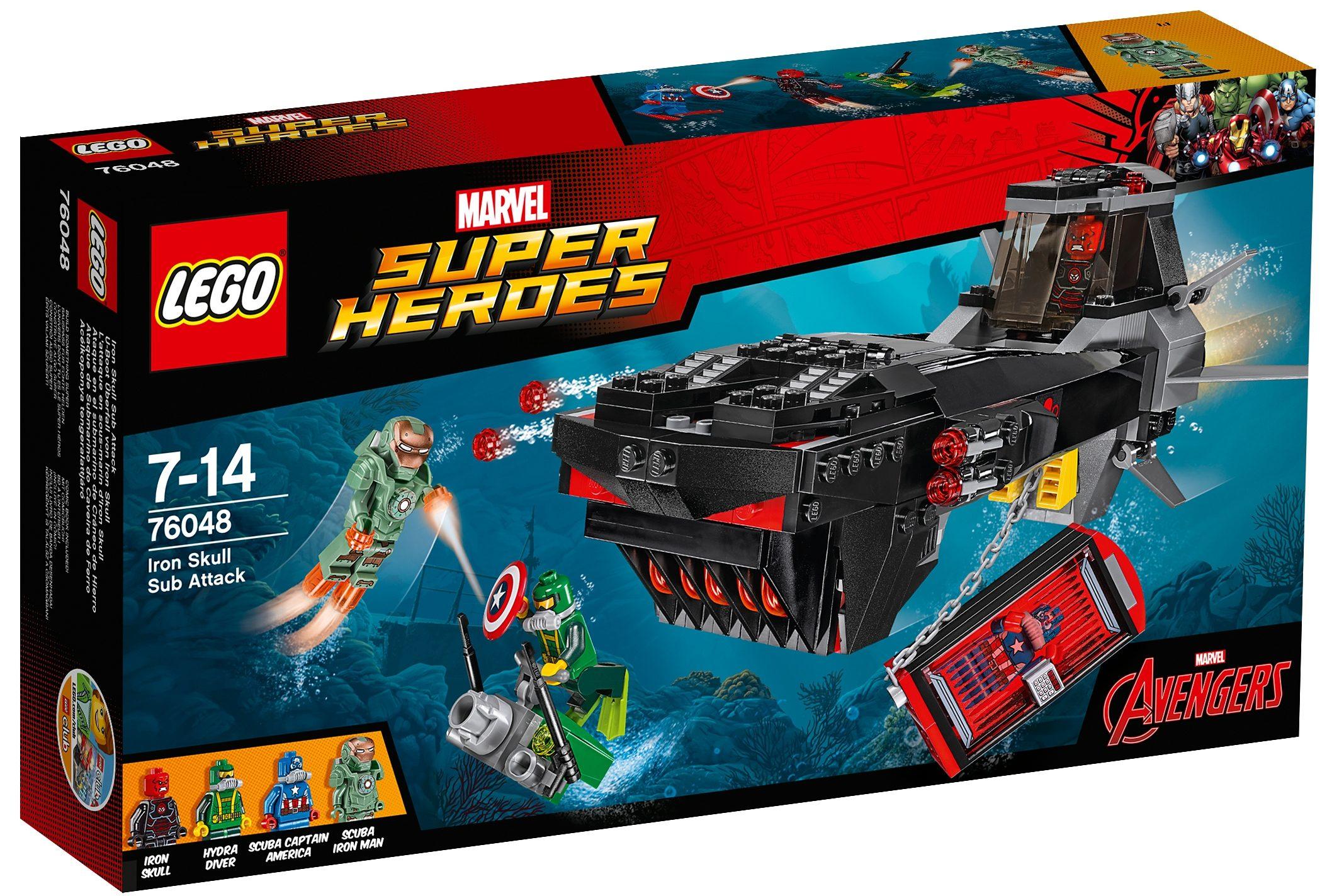 LEGO® U-Boot Überfall von Iron Skull (76048), »LEGO® Marvel Super Heroes«