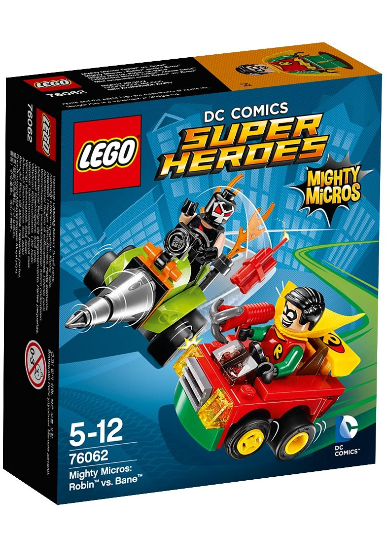 LEGO® Mighty Micros: Robin™ vs. Bane™ (76062), »LEGO® DC Super Heroes«