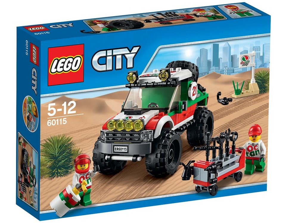 LEGO® Allrad-Geländewagen (60115), »LEGO® City«