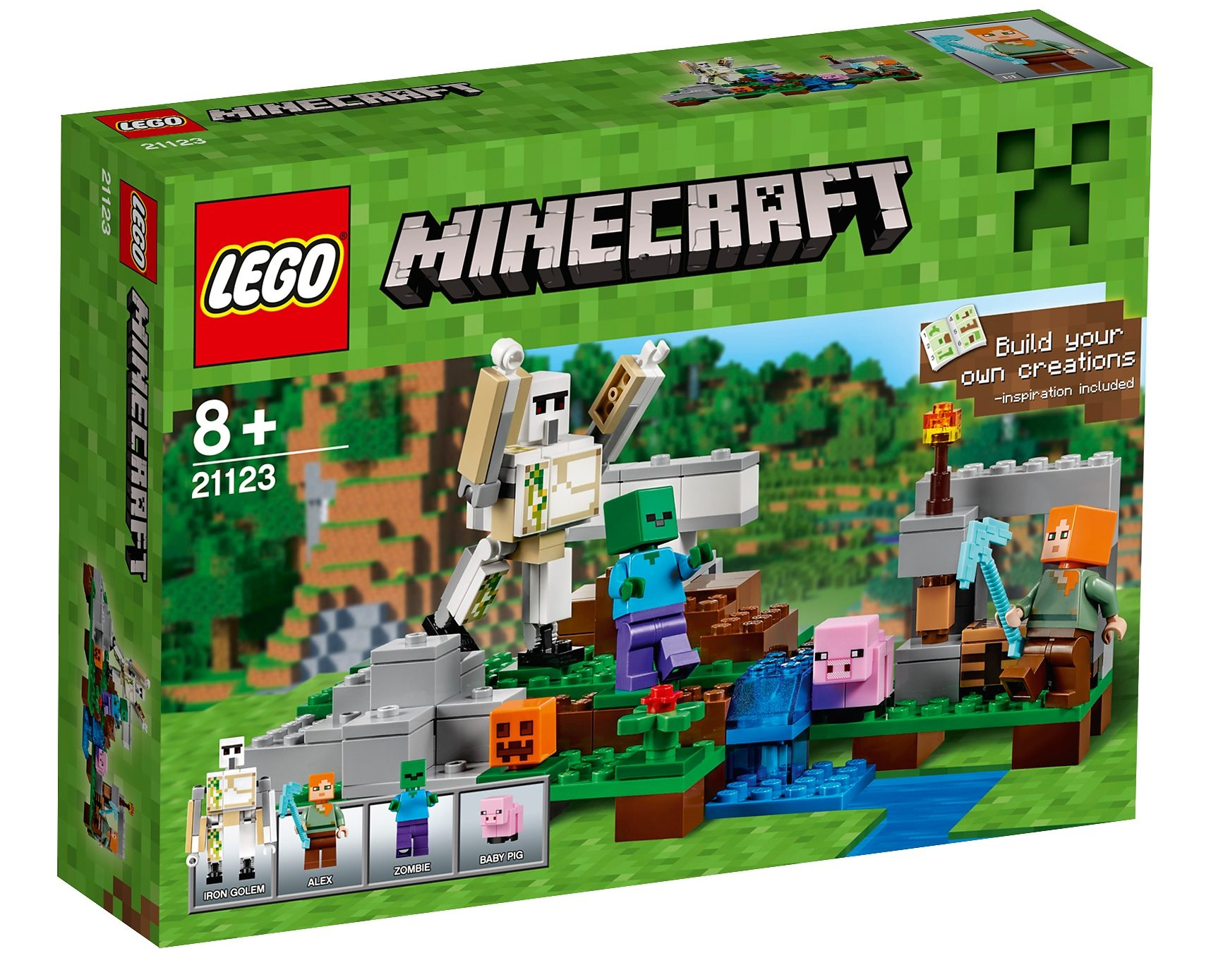 LEGO®, Der Eisengolem (21123), »LEGO® Minecraft™«