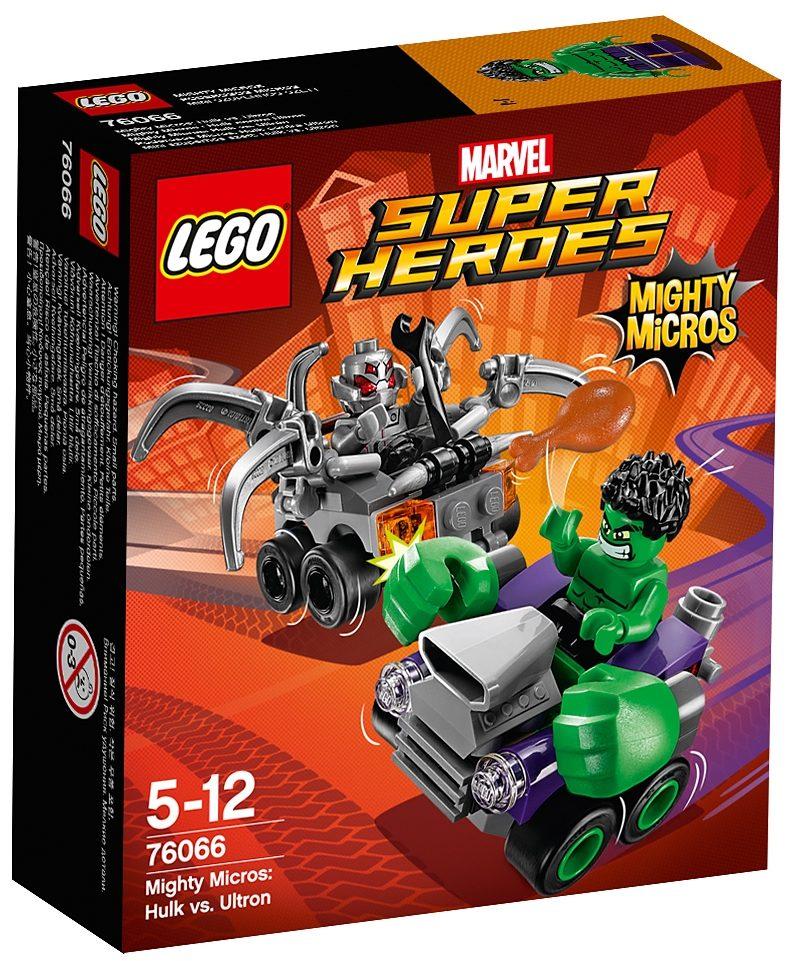 LEGO® Mighty Micros: Hulk vs. Ultron (76066), »LEGO® Marvel Super Heroes«