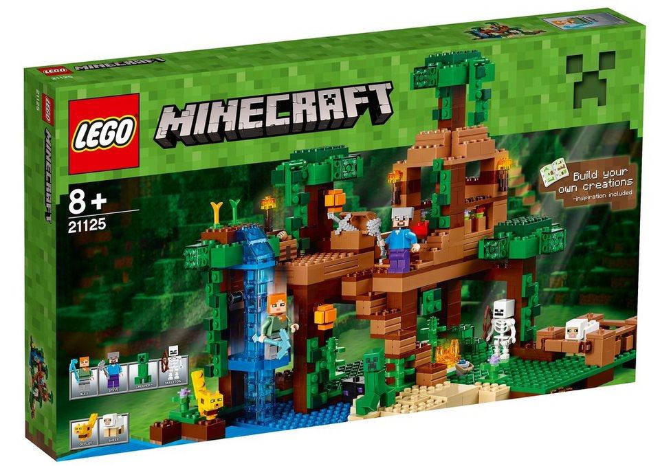 LEGO®, Das Dschungel-Baumhaus (21125), »LEGO® Minecraft™«