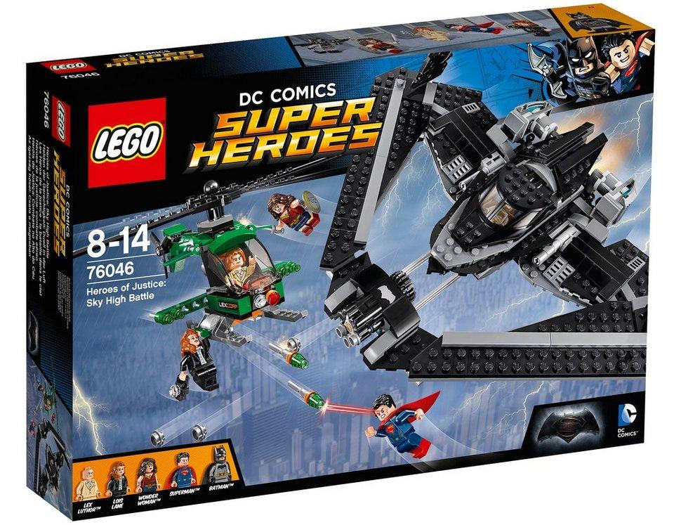 LEGO® Helden der Gerechtigkeit: Duell in der Luft (76046), »LEGO® DC Comics Super Heroes«