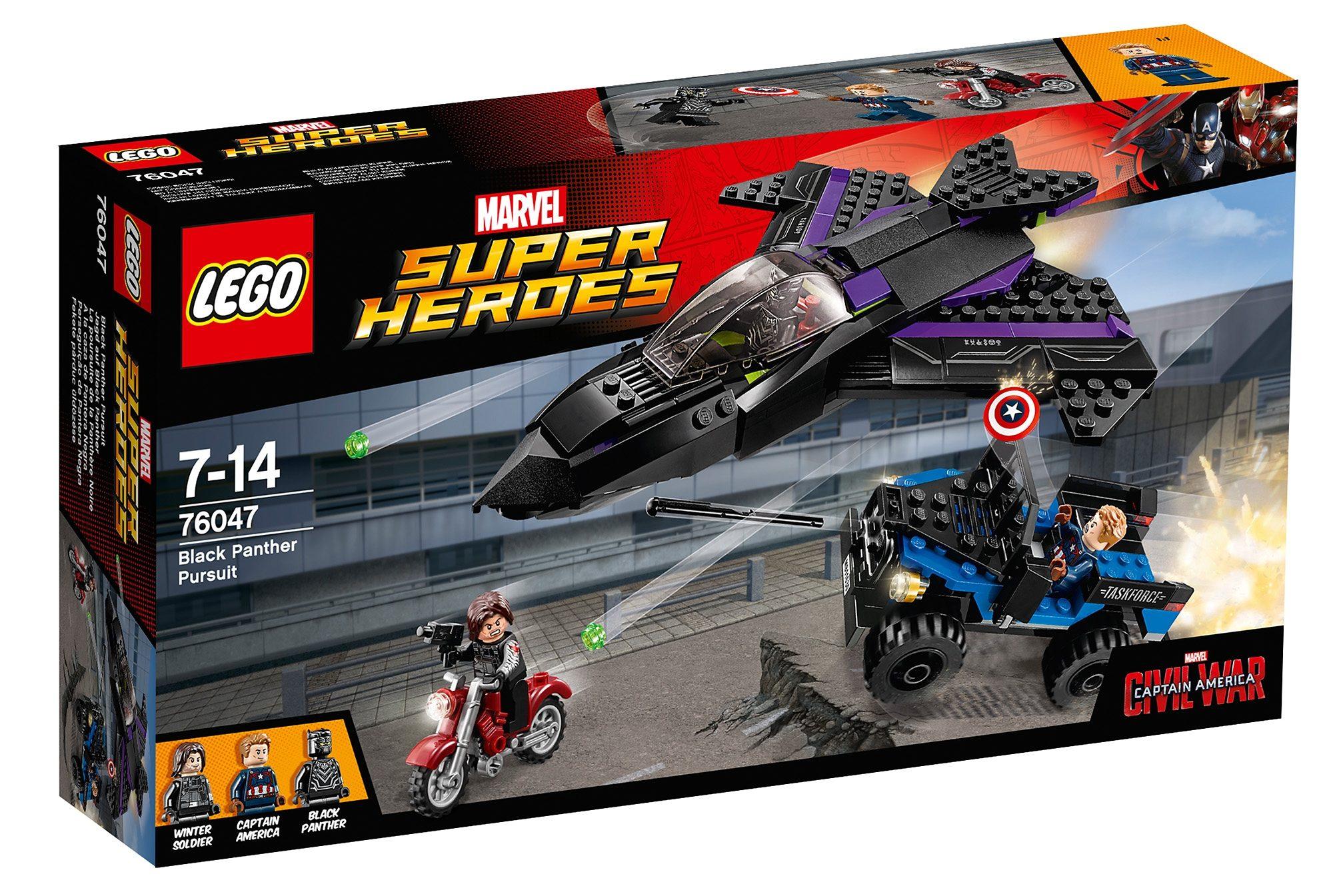 LEGO®, Jagd auf Black Panther (76047), »LEGO® Marvel Super Heroes«