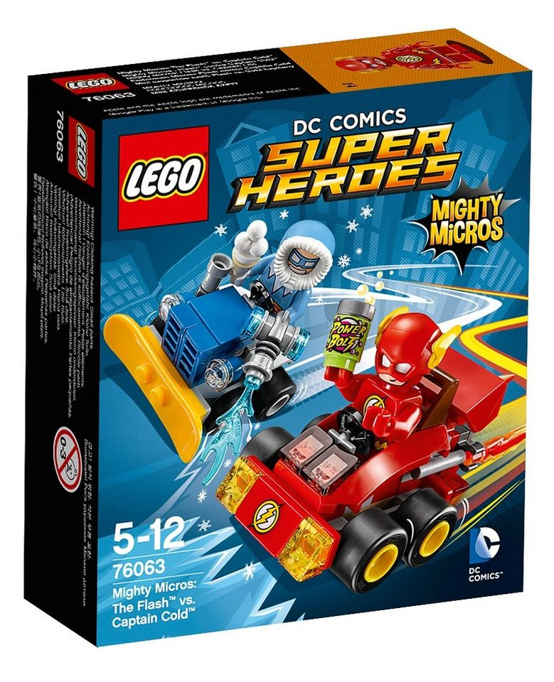 LEGO® Mighty Micros: The Flash™ vs. Captain Cold™ (76063), »LEGO® DC Comics Super Heroes«