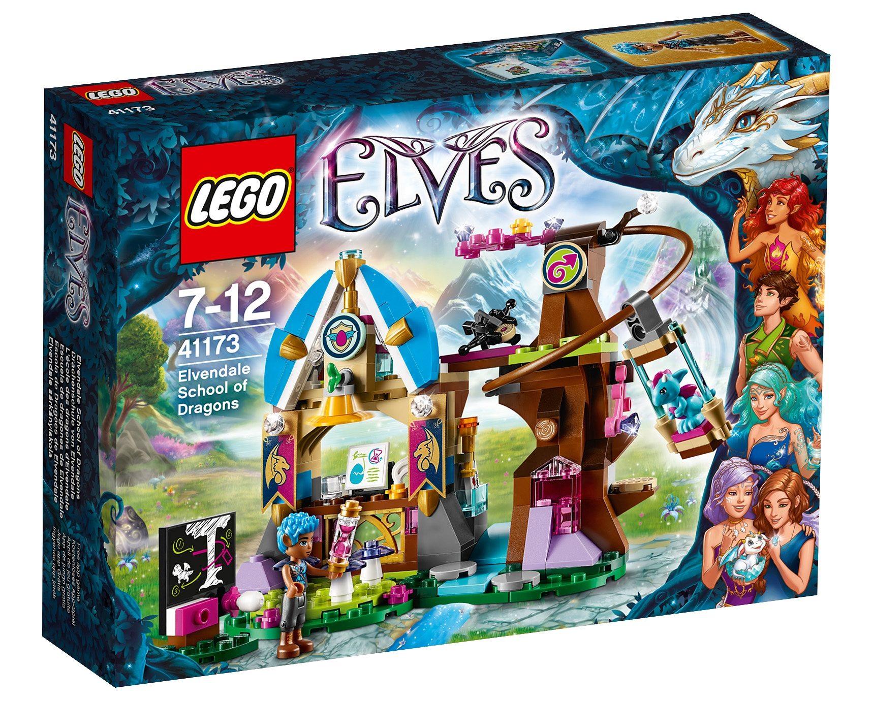 LEGO® Drachenschule von Elvendale (41173), »LEGO® Elves«