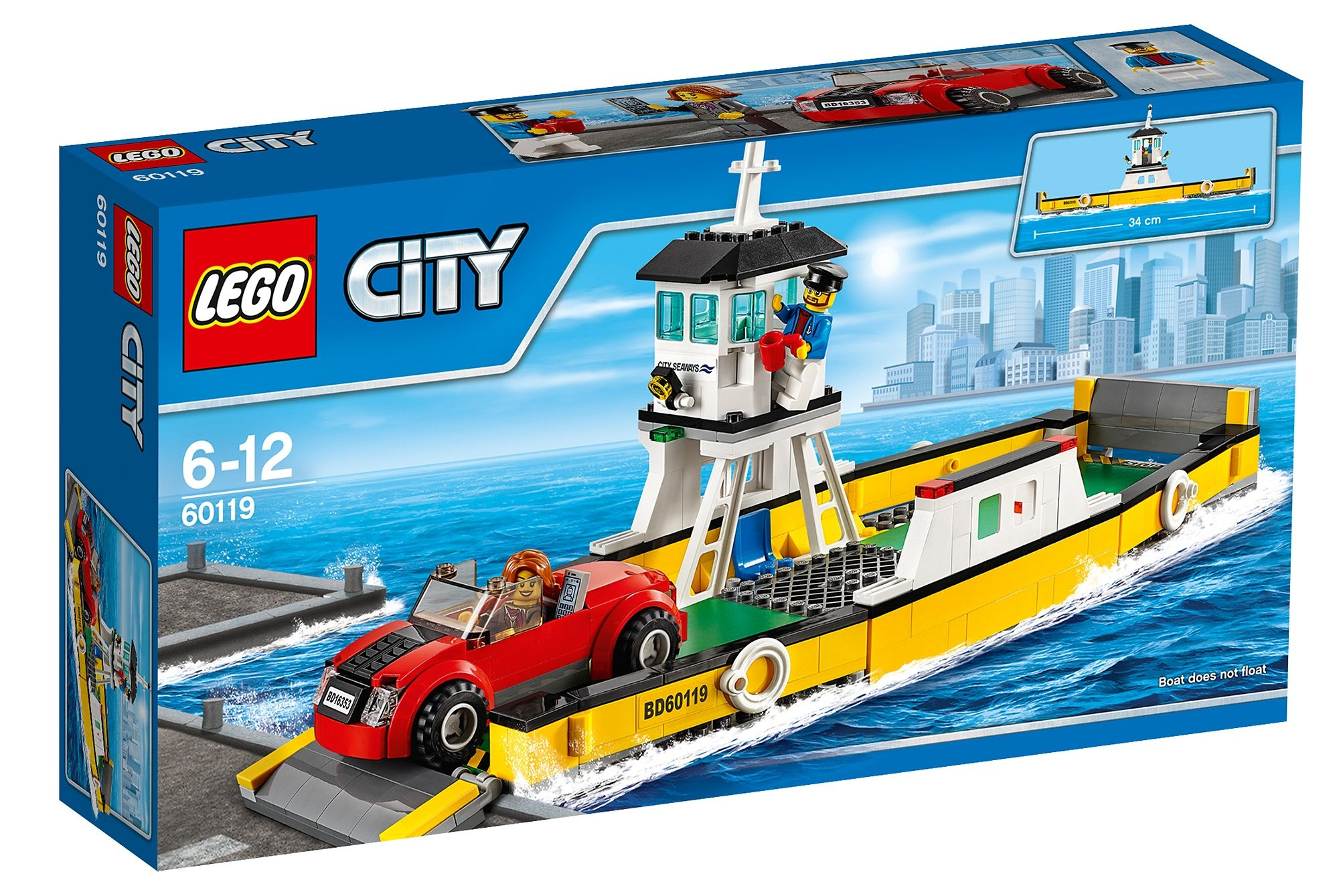 LEGO®, Fähre (60119), »LEGO® City Great Vehicles«