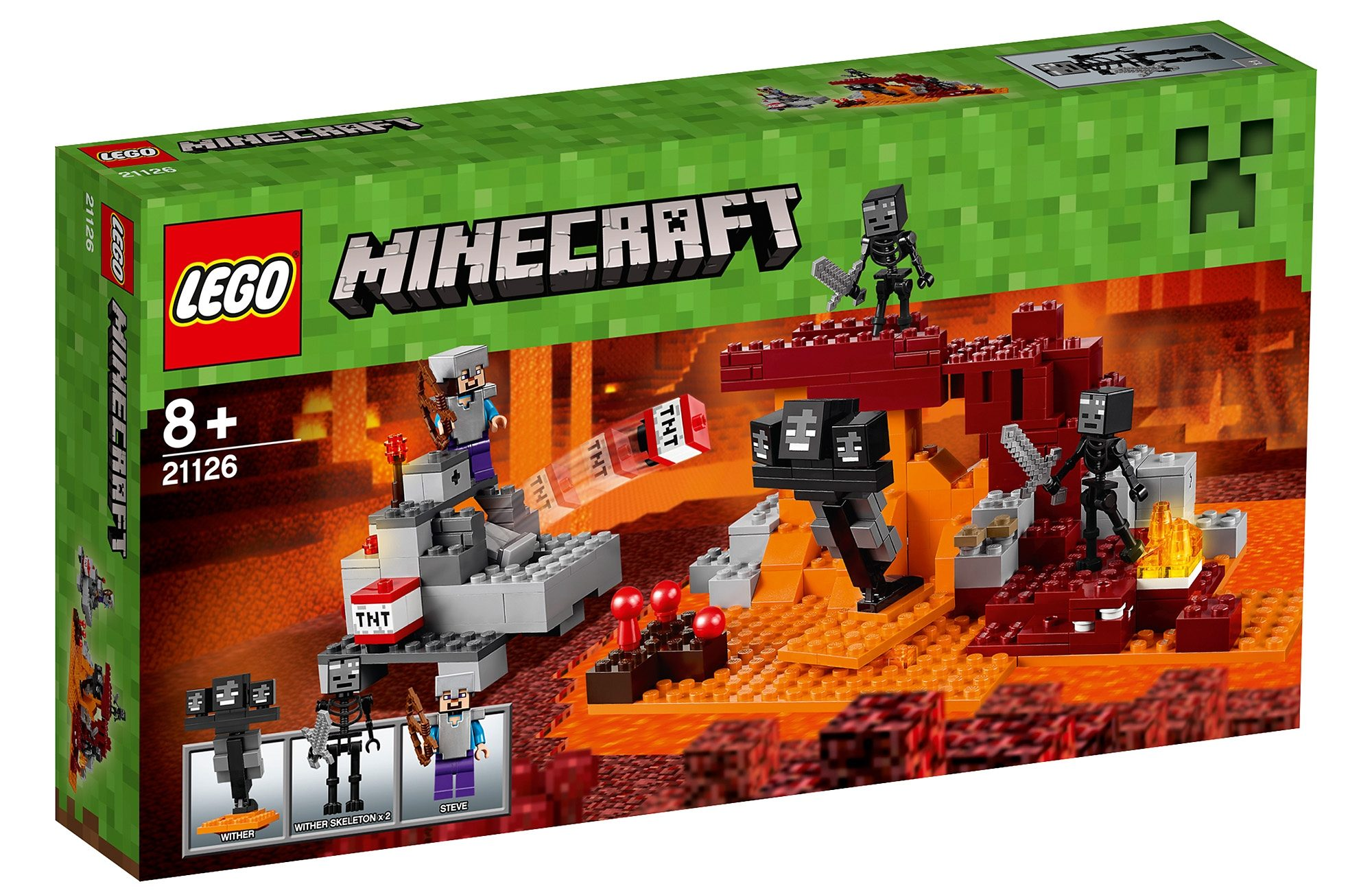 LEGO®, Der Wither (21126), »LEGO® Minecraft™«