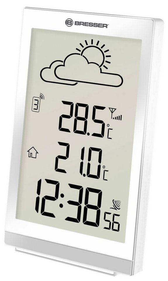 Bresser Wetterstation »BRESSER TemeoTrend ST Funkwetterstation« in weiss