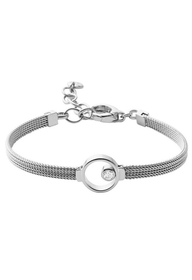 Skagen Armband mit Glasstein, »Elin, SKJ0834040« in silberfarben