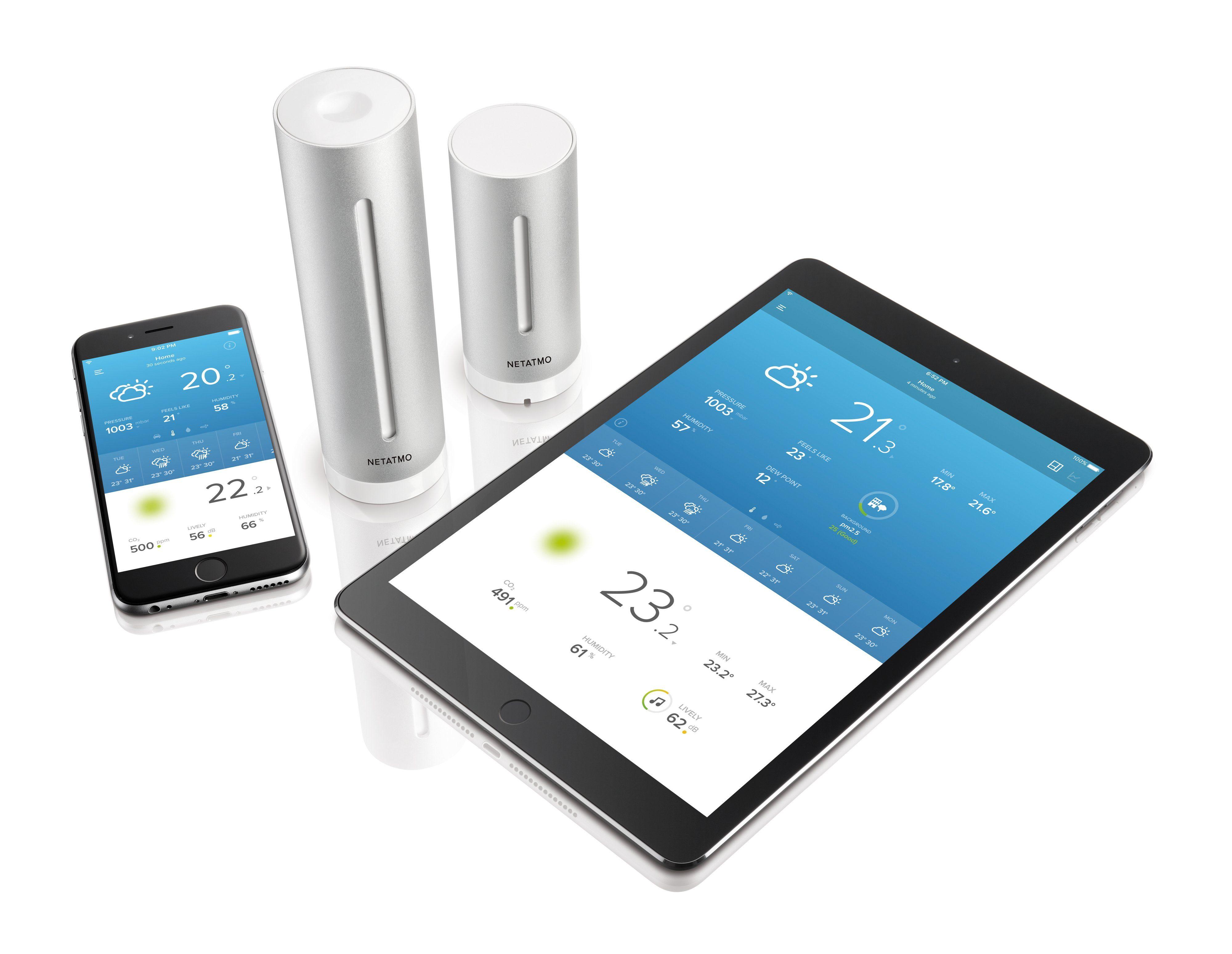Netatmo Wetterstation mit Smartphone-App »Smarte Wetterstation«