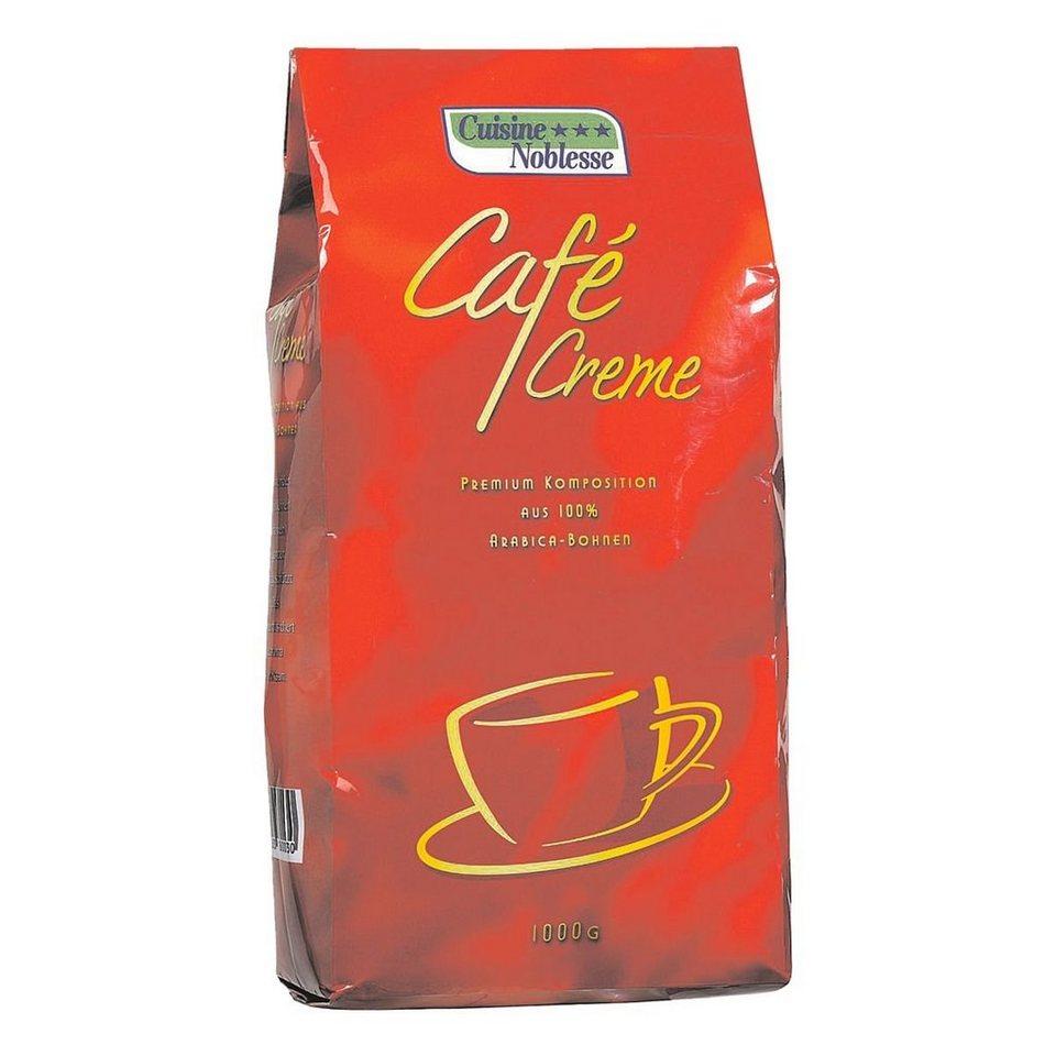 cuisinenoblesse kaffee ganze bohnen 1000 g caf creme. Black Bedroom Furniture Sets. Home Design Ideas