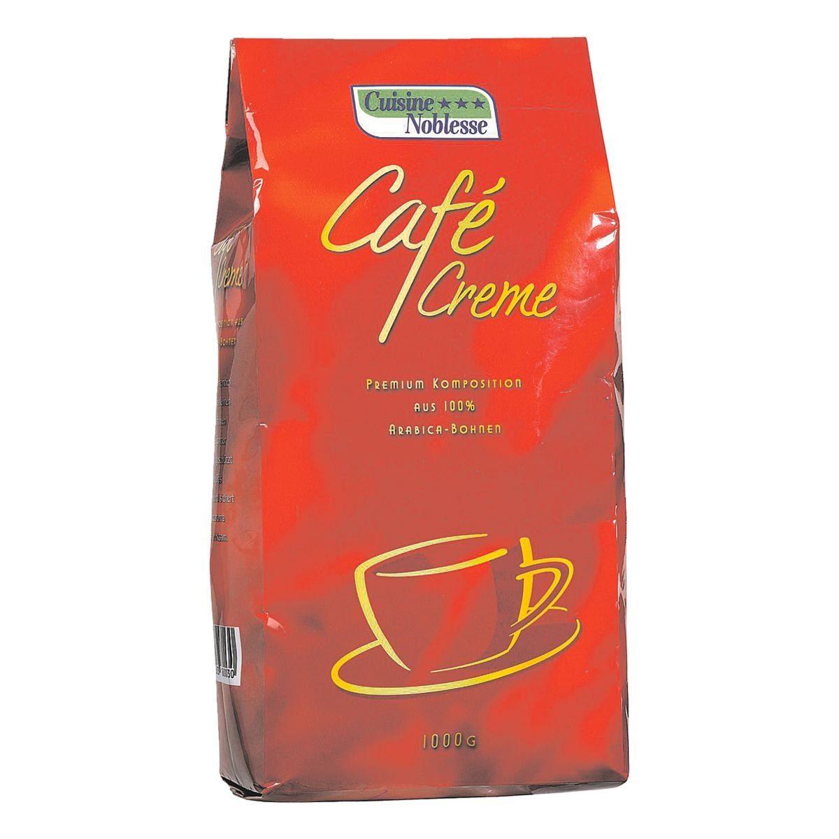 Kaffee - ganze Bohnen »Café Creme«