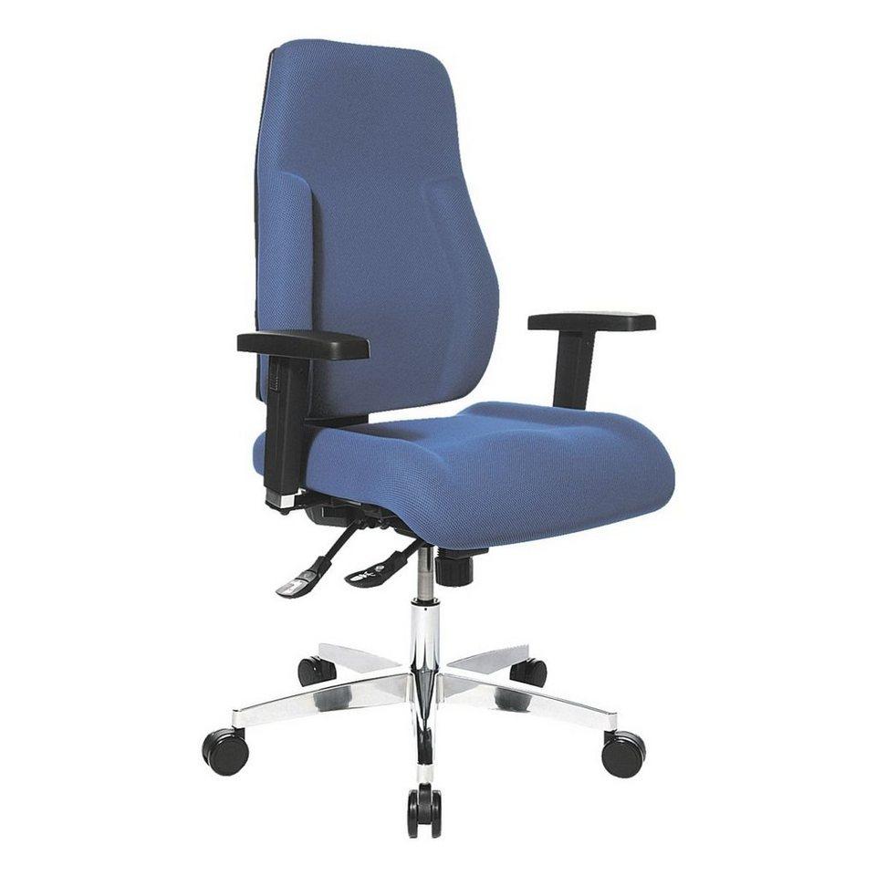Topstar Bürostuhl »P91« ohne Armlehnen in blau