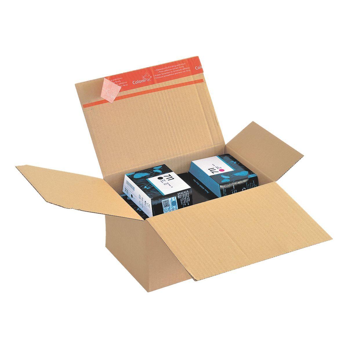 COLOMPAC Blitzbodenkartons 16,0/23,0/12,5 cm