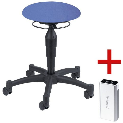 TOPSTAR Sitzhocker inkl. Ladegerät für Smartphones/Tablets »Powerbank »Balance 10« 1 Set