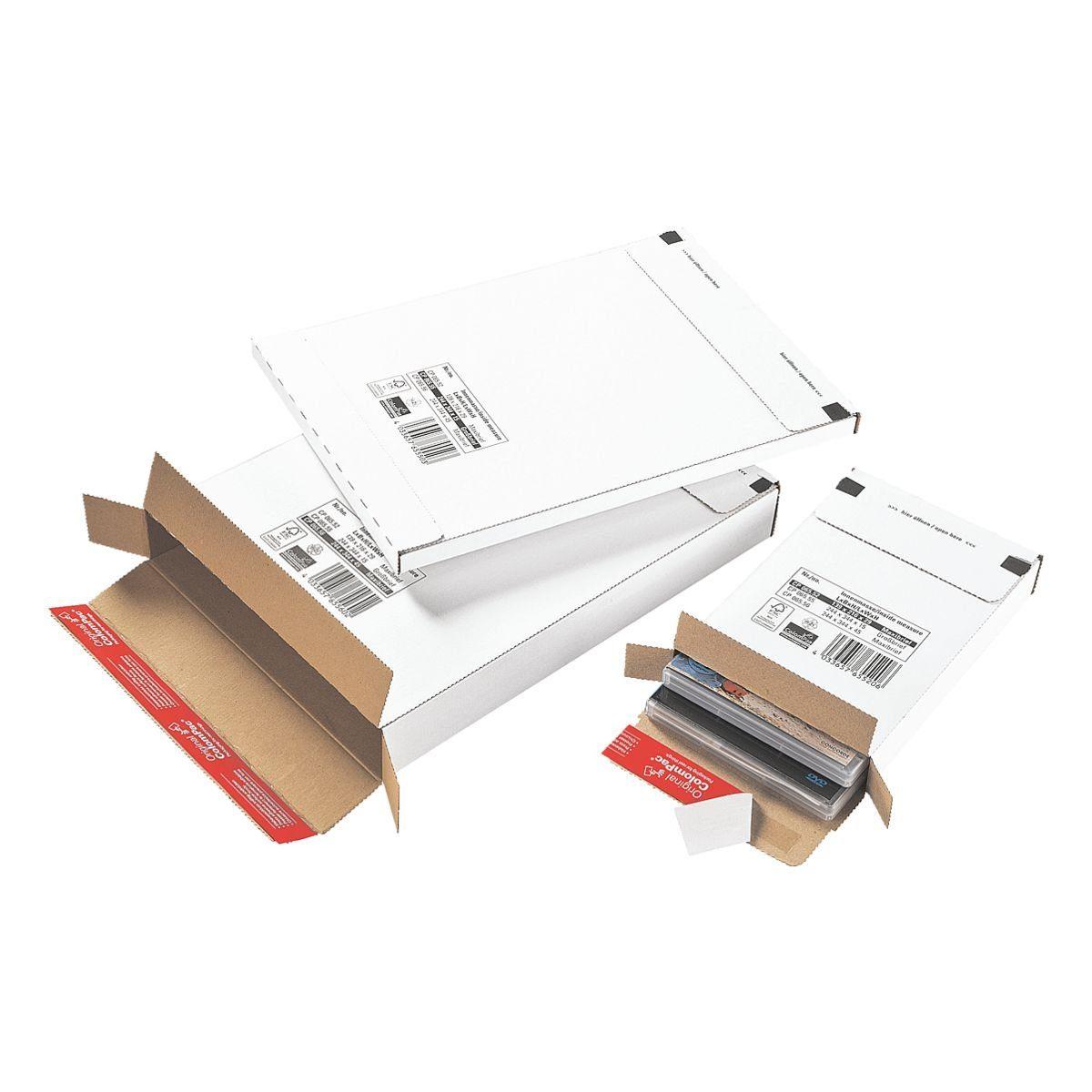 COLOMPAC Versandkarton - 20 Stück »CP065.52 (Maxibrief)«