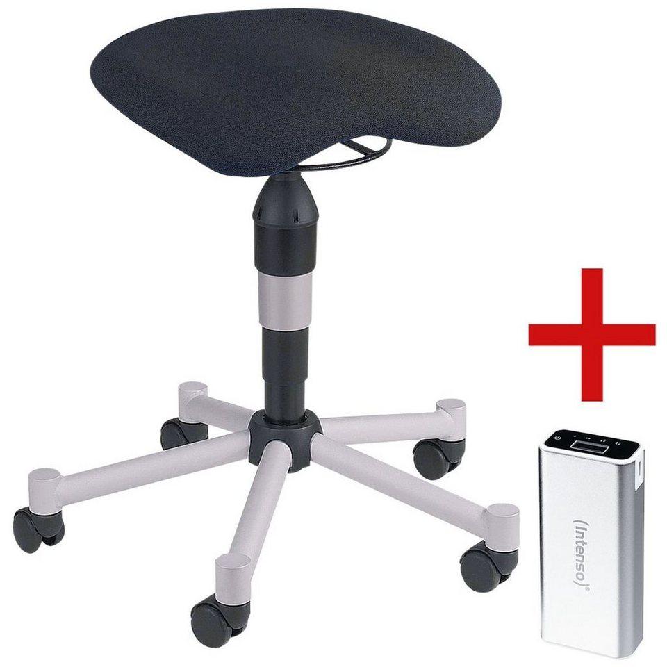 topstar fitness sitzhocker inkl ladeger t f r smartphones balance 20 1 set online kaufen. Black Bedroom Furniture Sets. Home Design Ideas