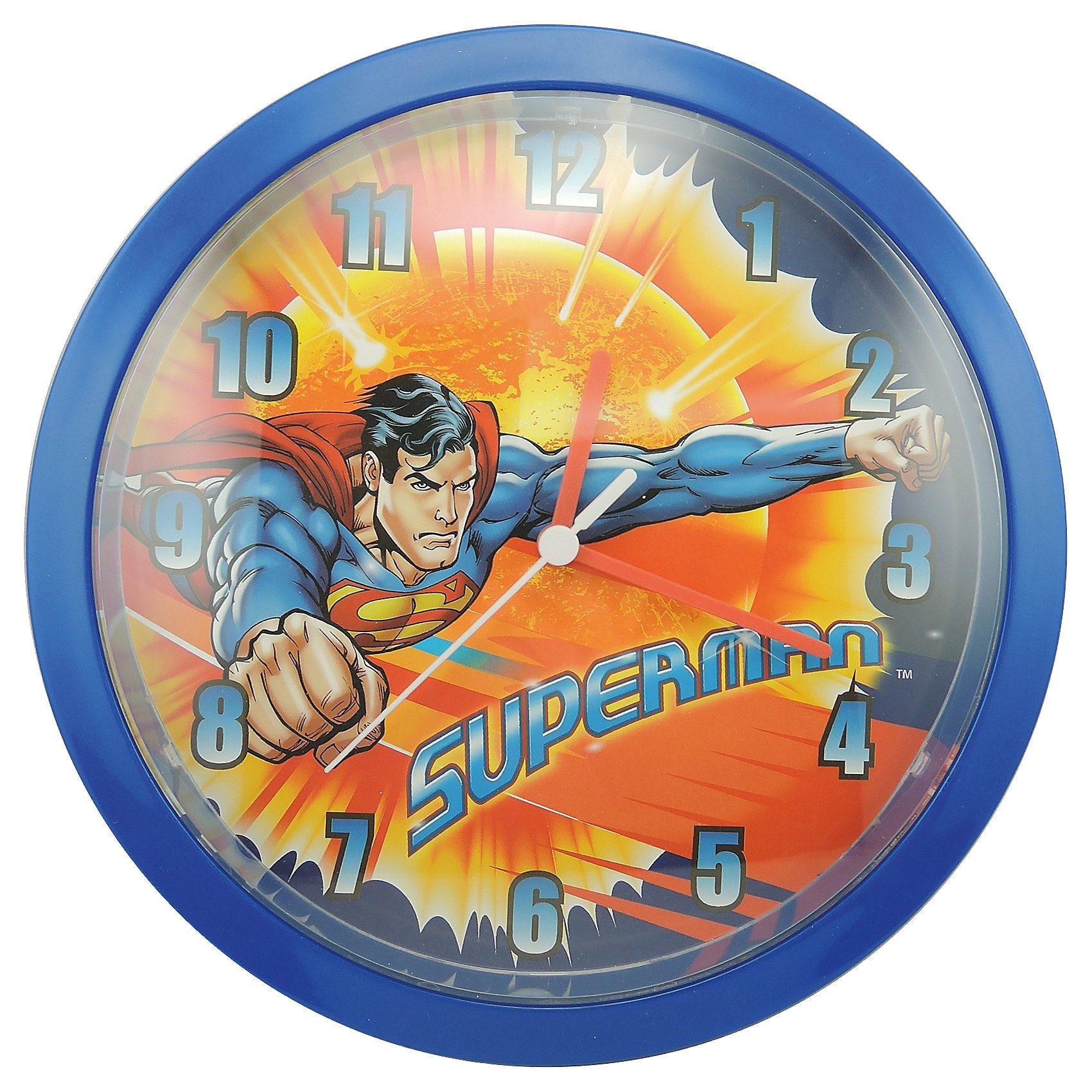 JOY TOY Wanduhr Superman