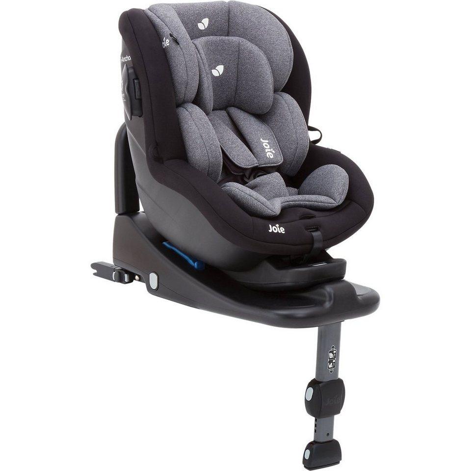 Joie Auto-Kindersitz i-Anchor Advance, Two Tone Black in schwarz