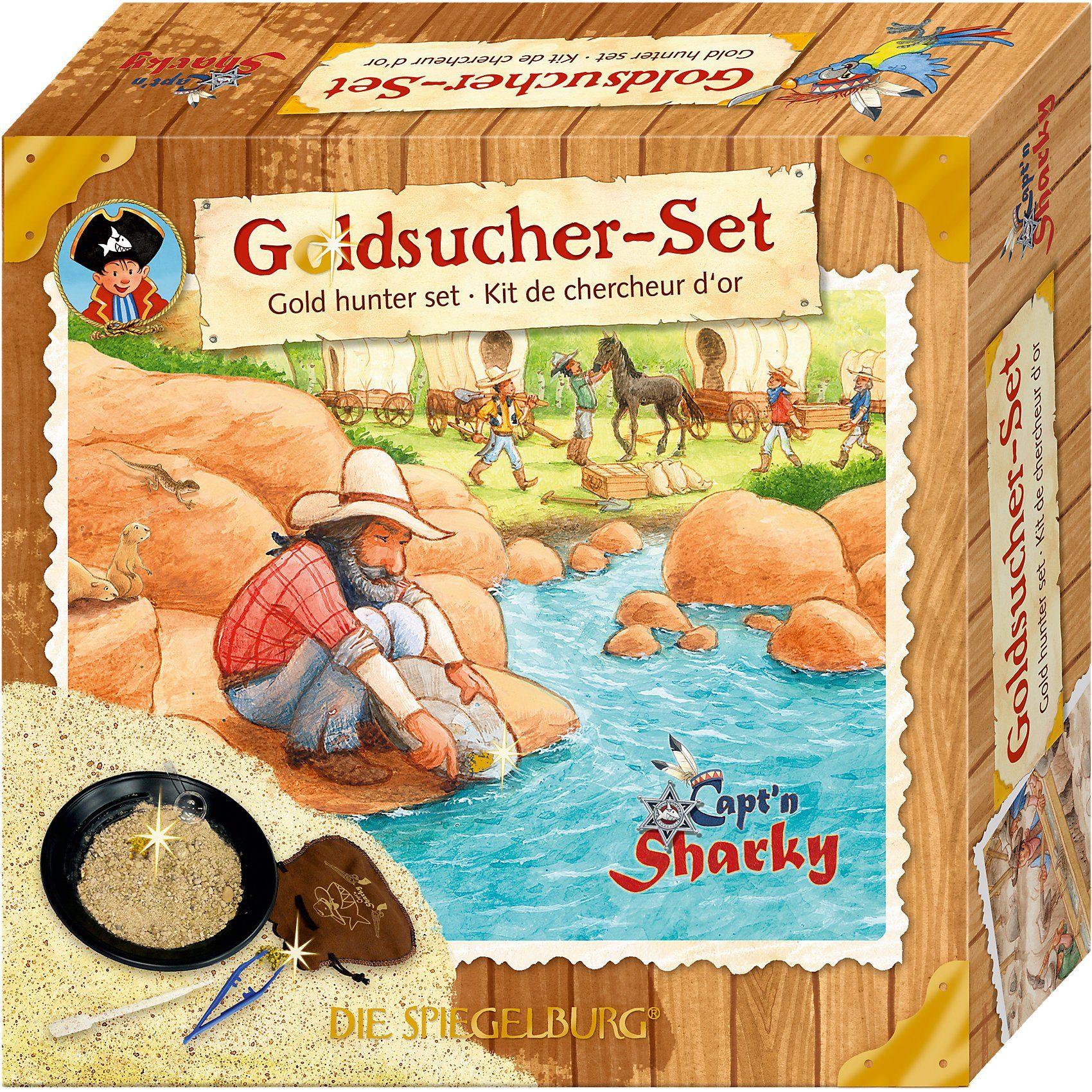 Spiegelburg Goldsucher-Set Capt'n Sharky