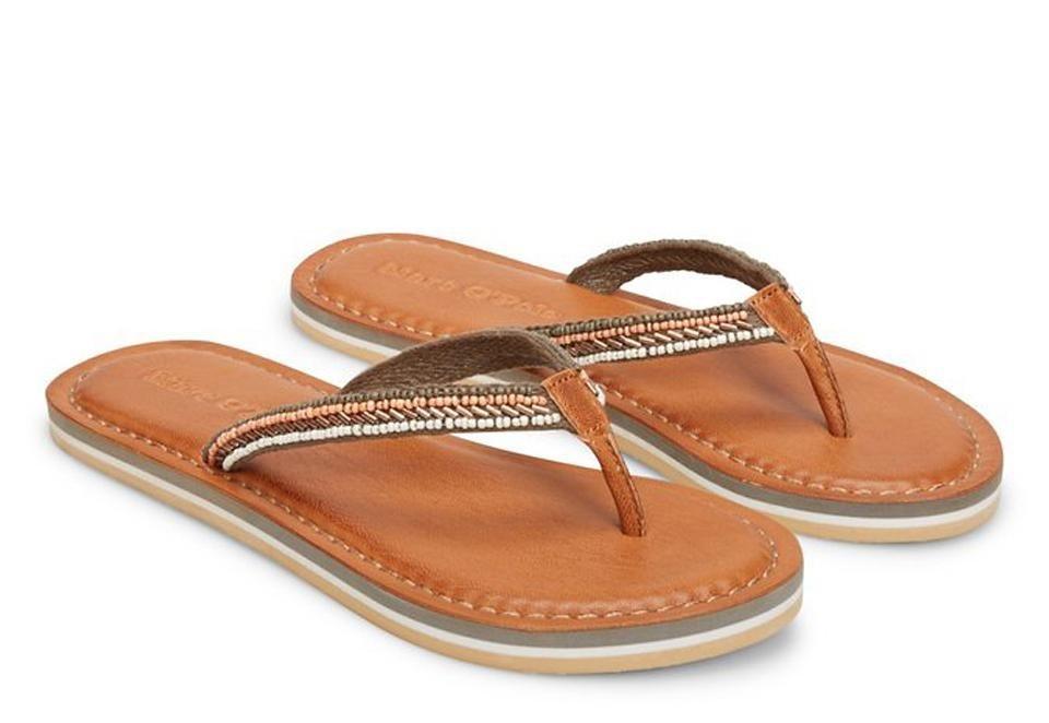 Marc O'Polo Shoes Sandale in 410 khaki