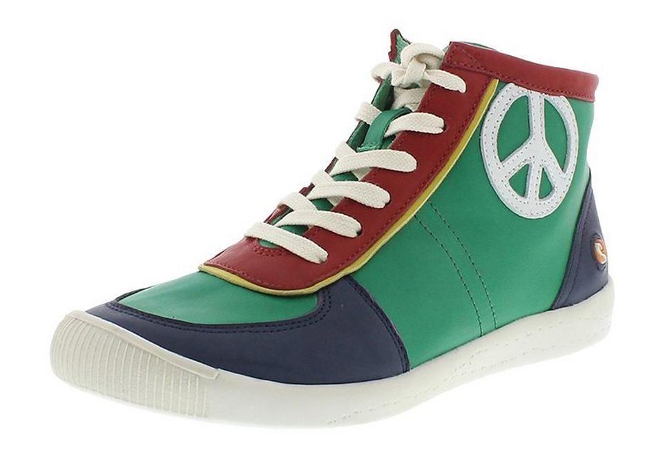 softinos Sneaker high »IPI299SOF« in grün