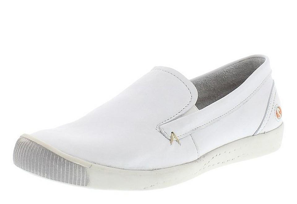 softinos Ballerina »ITA298SOF smooth leather« in weiß