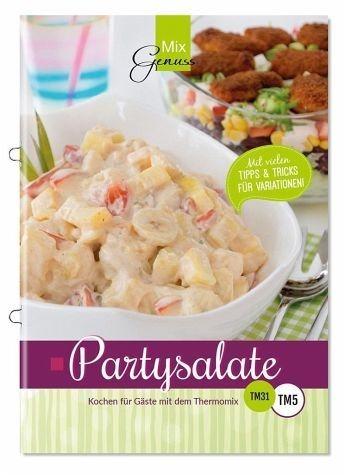 Broschiertes Buch »Partysalate«
