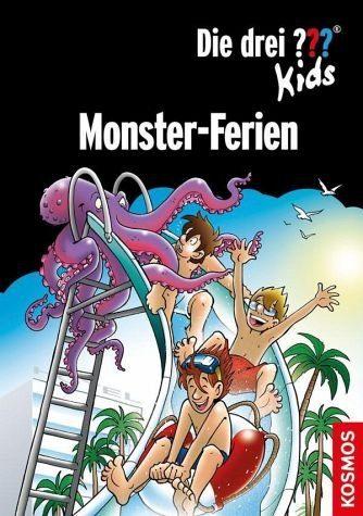 Gebundenes Buch »Die drei ??? Kids. Monster-Ferien (drei...«