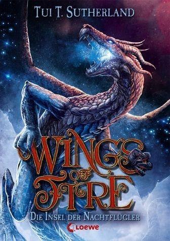 Gebundenes Buch »Die Insel der Nachtflügler / Wings of Fire Bd.4«