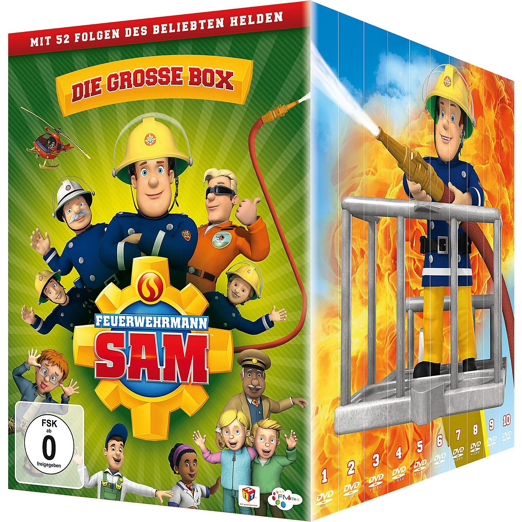 DVD Feuerwehrmann Sam - die große Box