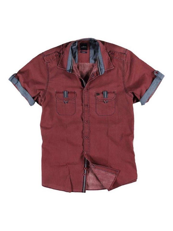 engbers Hemd kurzarm in Blutrot