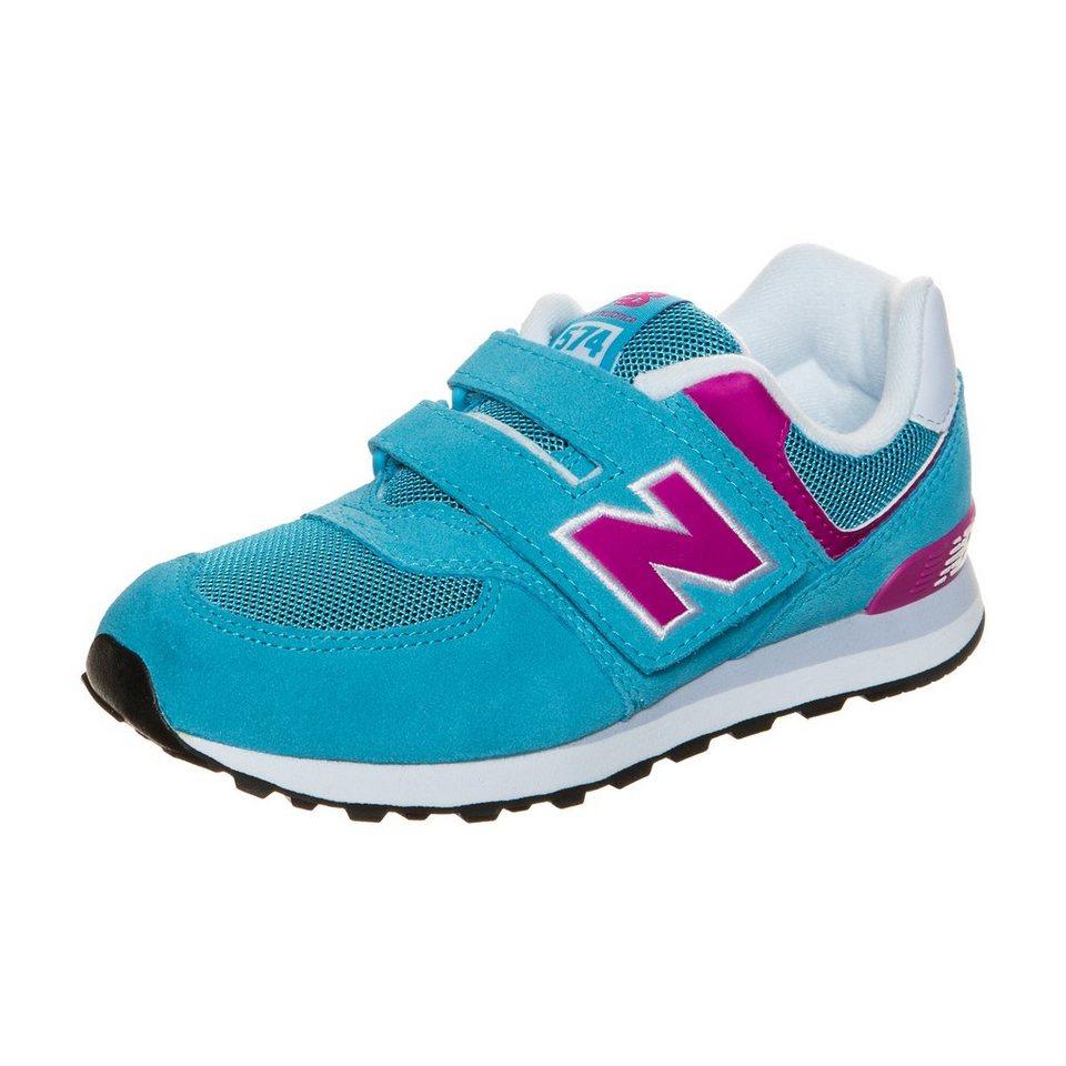 NEW BALANCE KV574-P3Y-M Sneaker Kinder in türkis / pink