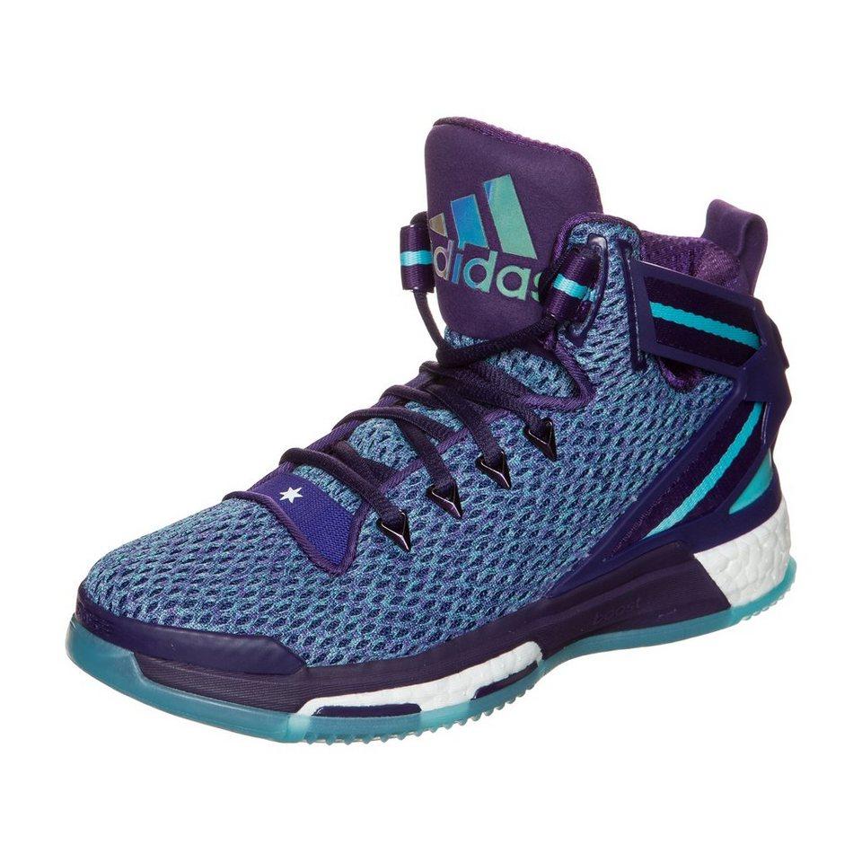 adidas Performance Derrick Rose 6 Boost Basketballschuh Kinder in lila / hellblau