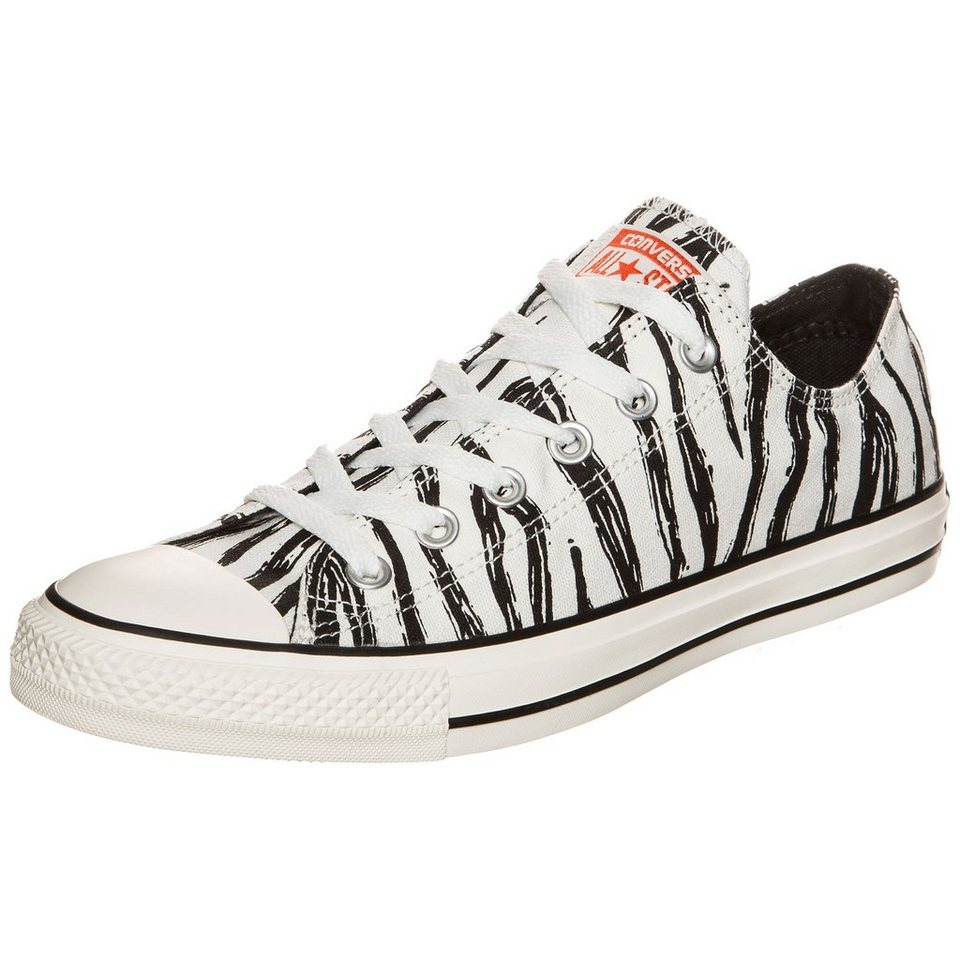 CONVERSE Chuck Taylor All Star OX Sneaker in weiß / schwarz