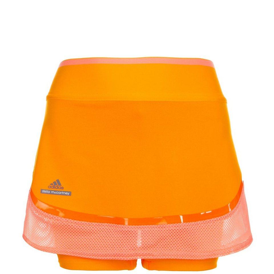 adidas Performance Stella McCartney Barricade Tennisrock Kinder in orange / koral