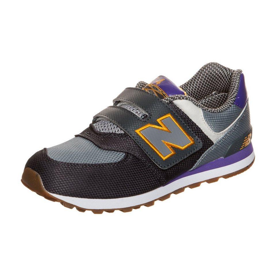 NEW BALANCE KV574-E7Y-M Sneaker Kinder in grau / lila
