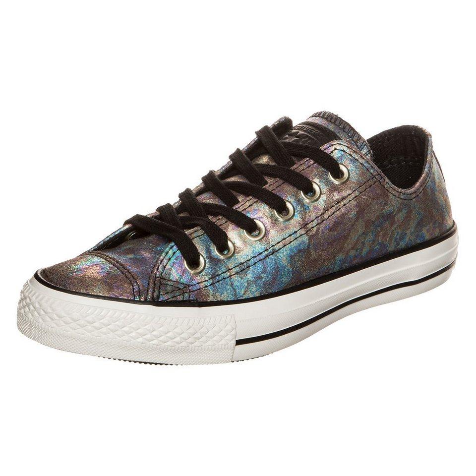 CONVERSE Chuck Taylor All Star OX Sneaker Damen in schwarz metallic