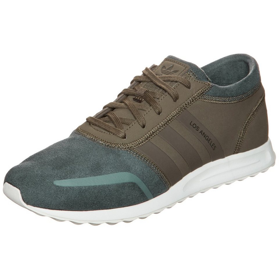 adidas Originals Los Angeles Sneaker in khaki / dunkelgrün