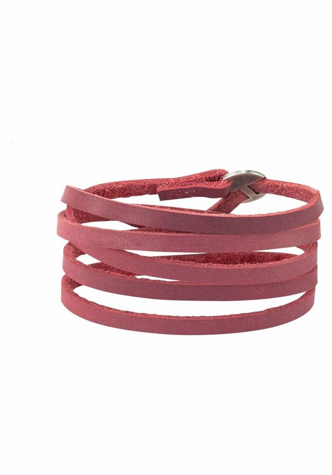 J. Jayz Armband zum Wickeln in rot