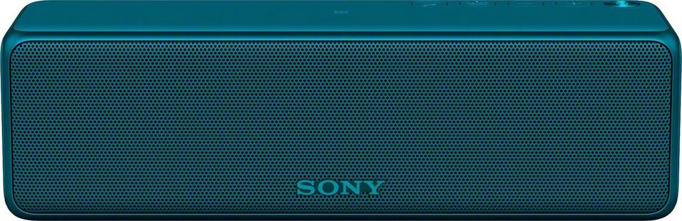 Sony SRS-HG1 tragbarer kabelloser Lautsprecher, Hi-Res, Bluetooth, NFC, Multiroom, USB in blau