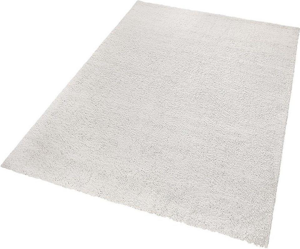 Hochflor-Teppich, ESPRIT, »Selfie«, Höhe 30 mm, gewebt in beige