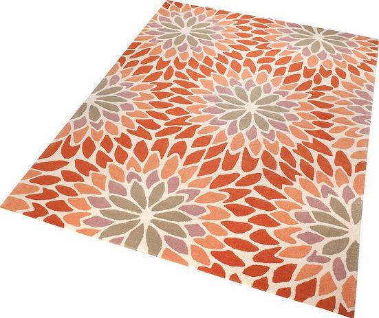 Teppich »Lotus«, Esprit, rechteckig, Höhe 10 mm, Wohnzimmer