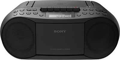 Sony »CFD-S70« Boombox (CD, MP-3, Kassette)