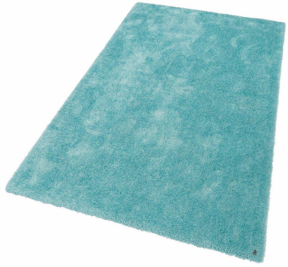 Orientteppich türkis  Hochflor-Teppich, Tom Tailor, »Soft«, Höhe 35 mm, handgetuftet ...