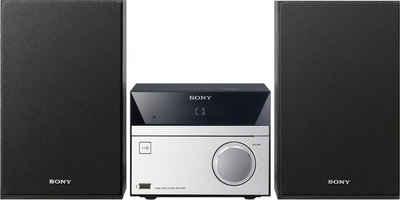 Sony »CMT-SBT20B« Microanlage (FM-Tuner mit RDS, Digitalradio (DAB), MEGA BASS Funktion)