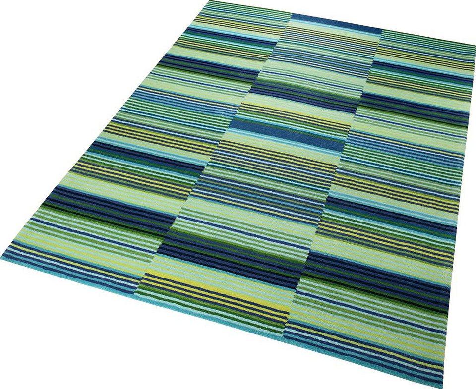 Teppich, ESPRIT, »Colorpop«, handgetuftet in grün